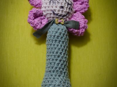 Lala na szydełku. tutorial doll crochet