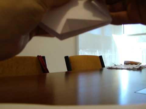 Maceta de papel - origami