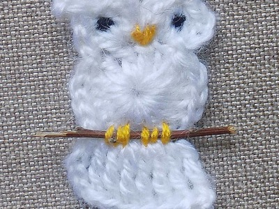 Make a Cheerful Crocheted Owl Applique - DIY Crafts - Guidecentral