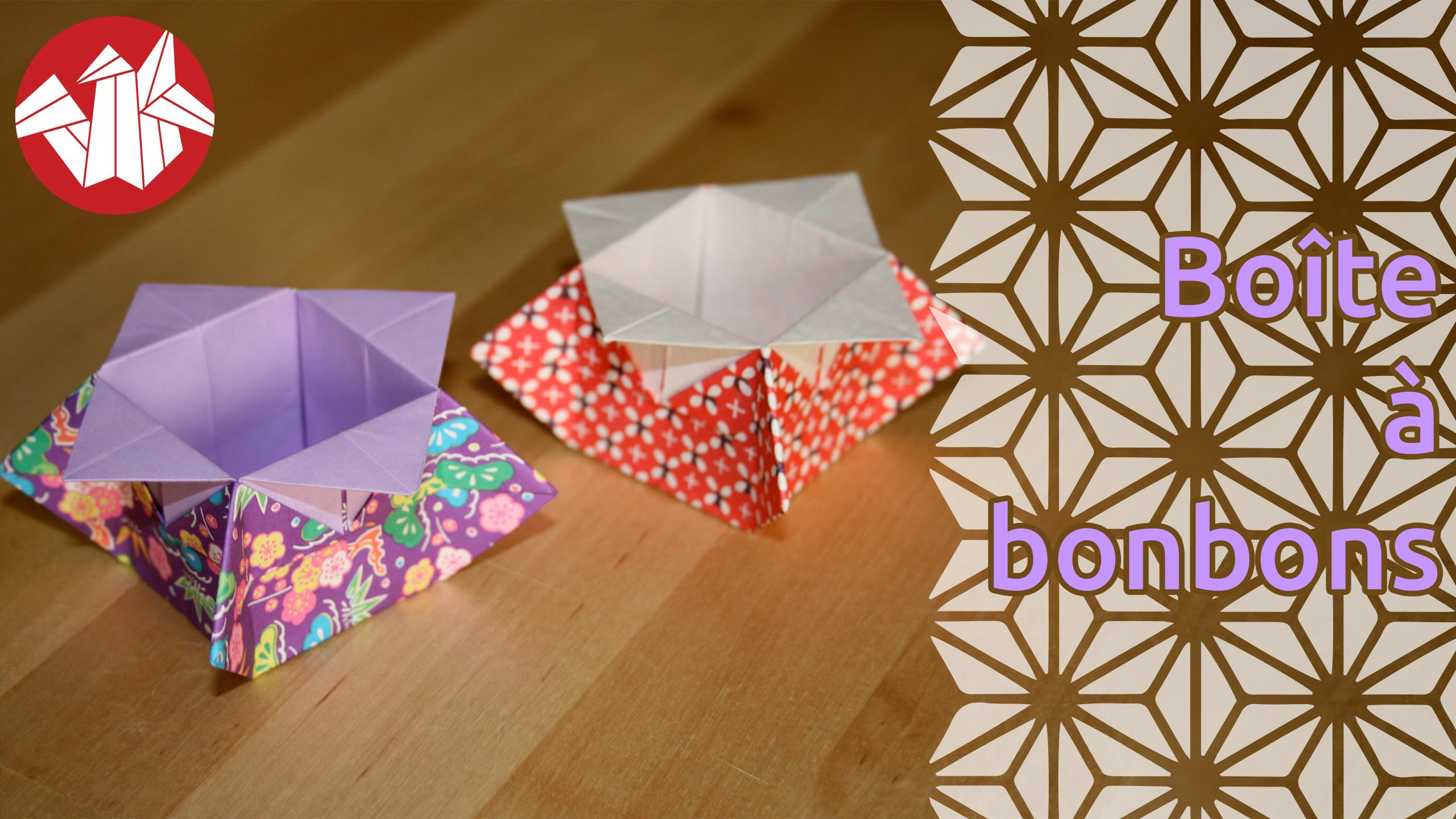 Origami - Boîte à bonbons de Katrin Shumakov [Senbazuru]