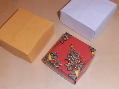#Origami - Cajitas de papel