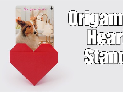 Origami Heart Stand (Jo Nakashima) - Mother's Day