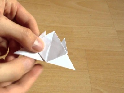 Origami Krebs selber falten - Origami Krebs selber machen - Anleitung
