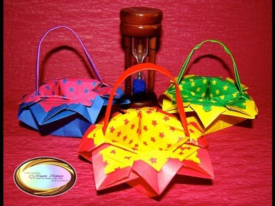Origami Maniacs 109: Origami Flower Basket