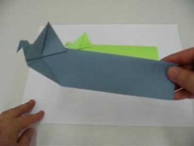 Origami - Marcador de livro