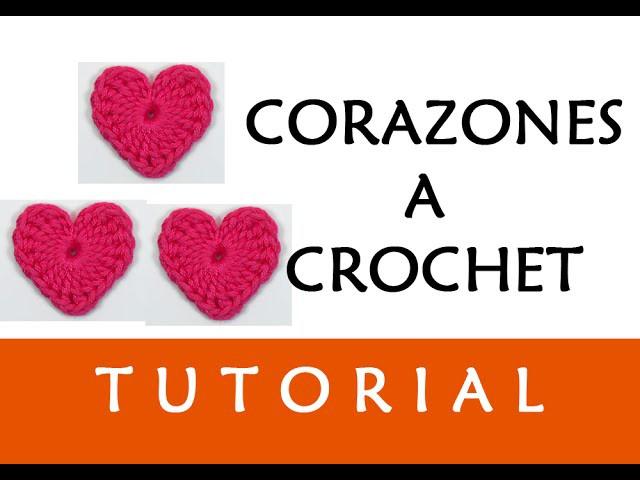 PATRÓN CROCHET: CORAZÓN (GRANDE), Patrones Valhalla, My Crafts and ...