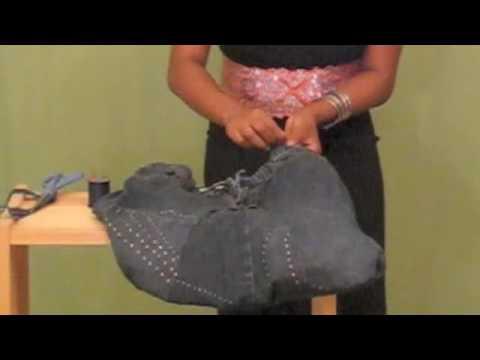 Pt.2 DIY: How To Make A Denim Purse (www.dgulleydesigns.com)