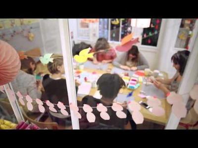 Test evjf atelier origami par les Spycats