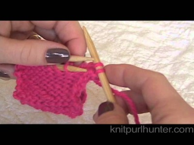 Three-Needle Bind Off