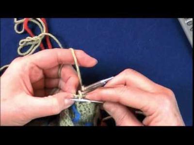 Three-Needle Bind Off