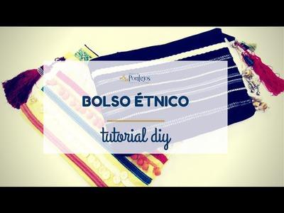 [Tutorial DIY] - Cómo hacer un Bolso Étnico