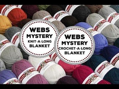 WEBS Mystery Knit-A-Long or Crochet-A-Long Blanket