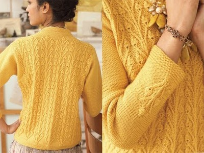 #23 Pullover, Vogue Knitting Early Fall 2010