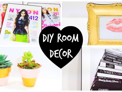 4 DIY Room Decor Ideas ♡ | BeautybyBlaire