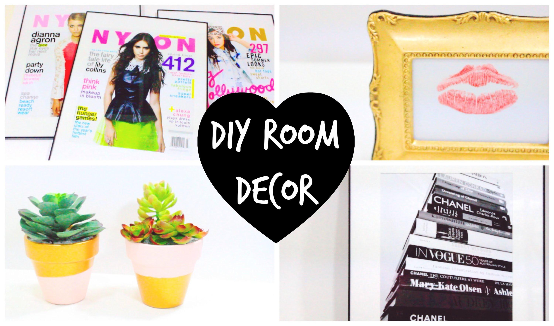 4 DIY Room Decor Ideas ♡ | BeautybyBlaire