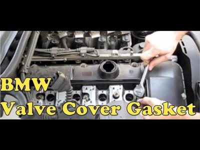 BMW Valve Cover Gasket Replacement (E90, E39, E46, E36) MillerTimeBMW - DIY 10