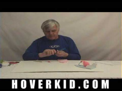 Build a balloon powered hovercraft. Easy to build, DIY project for kids and students - PART-1
