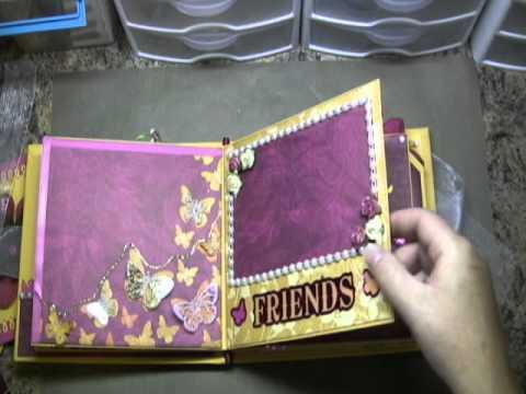 Butterfly Mini Scrapbook (sold)