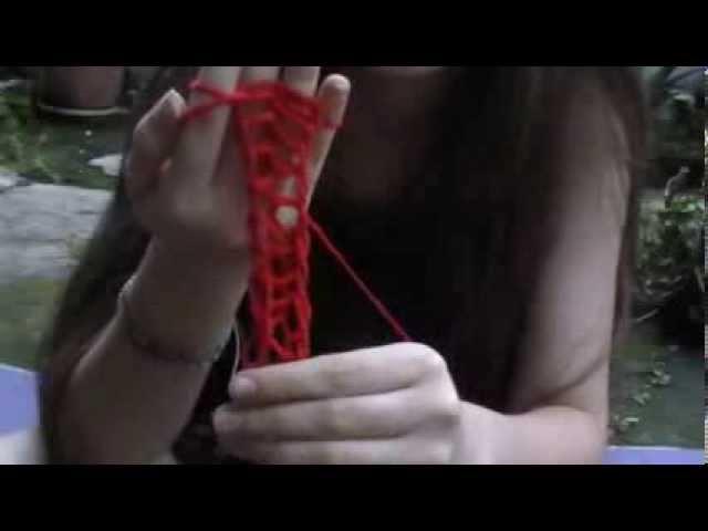 ¿Cómo tejer con los dedos? Segunda parte