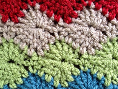 Catherine Wheel LEFT Crochet Stitch Part 1 of 2 by Maggie Weldon