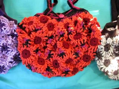 Crochet Flower Purses 7