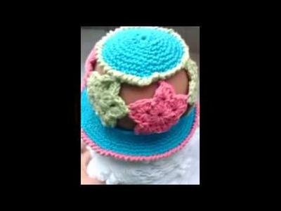 Crochet Liberty star hat |video response