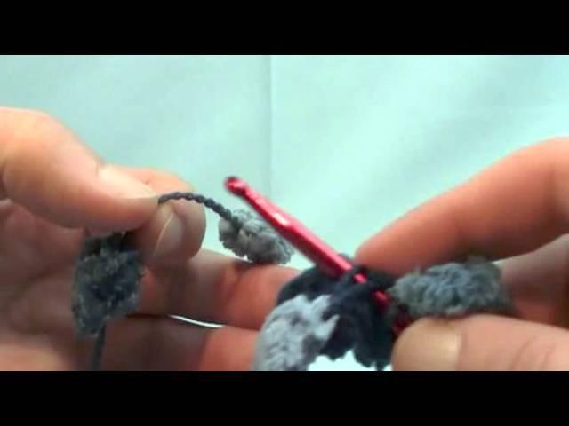 Crochet Puff Ball Scarf - Pom Pom Scarves