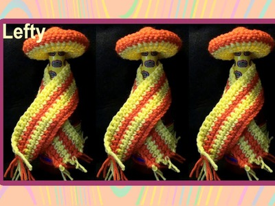Crochet Sombrero & Cape for Louisiana Hot Sauce - Left Hand Version Crochet Geek