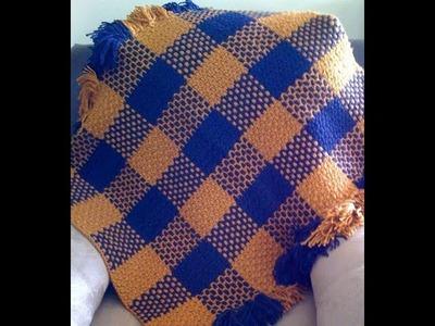Crochet - Weave a Basic Filet Mesh