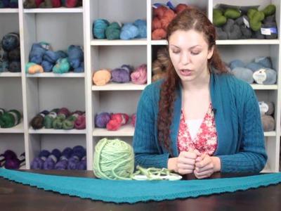 Crocheting a Slipped-Stitch Shawl : Crochet Stitches & Techniques