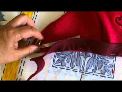 Disney Anna Wig.Cap.Gloves & Boots Tutorial