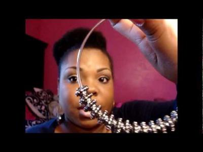 DIY: $8 BBW inspired earrings♥