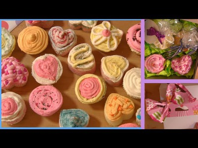 DIY ACNE, Youthful SKIN, & Silky HAIR Cupcake Bath Bomb (Gift Ideas)