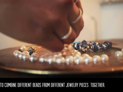 DIY & CRAFTS by: RECYCLE, REUSE, REINVENT OLD JEWELRY by Natasha Singh (@Miss_Singh)