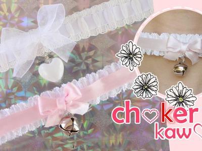 DIY:  Chokers kawaii