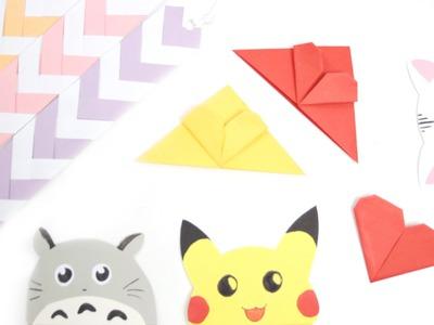 DIY: Cute & Easy Bookmark Ideas - Back to School
