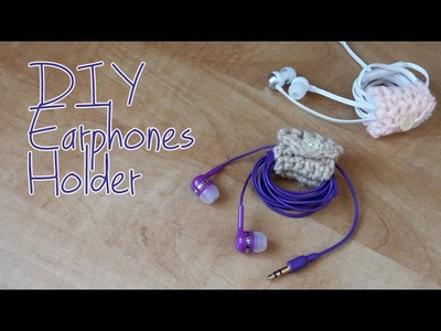 DIY: Earphones  Holder - Easy Crochet Tutorial