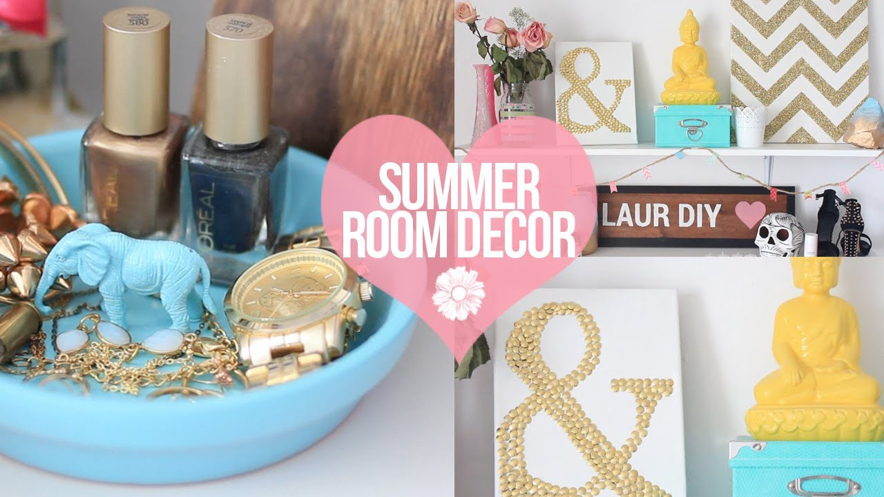 DIY: Easy Summer Room Decor | LaurDIY