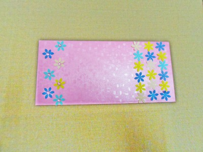 DIY: How to Decorate Greeting Envelope with Punch Craft