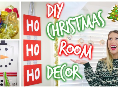 DIY Pinterest-Inspired Christmas Room Decor ❄︎