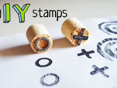 DIY stamps: 4 easy (and cheap) ways