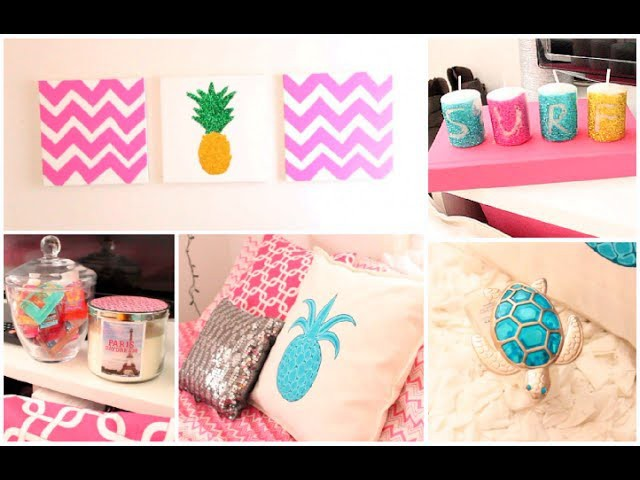 DIY Summer Room Decor + Organization Tips!