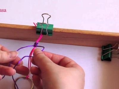 DIY Tutorial como hacer un muñeco de macrame. Macrame doll