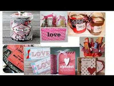 Easy & Yummy DIY Valentine's Day Treats Recipes, Gifts & Decor Ideas For Family and boy.girl Friend