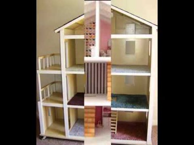 Easy DIY doll house projects ideas