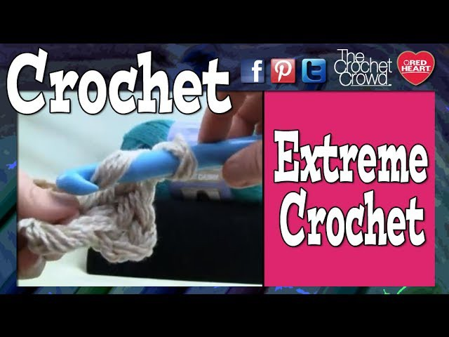 Extreme Crochet - Huge Granny Squares