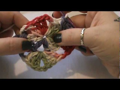 How to Crochet a Granny Square Trivet- Video 1 of 2