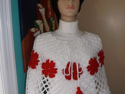 How To Crochet An Easy Poncho