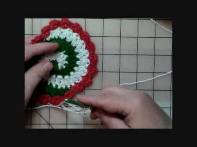 How to Crochet Pinwheel Coasters - Part One