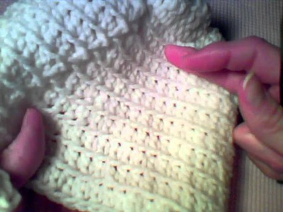 How to Crochet:  Toilet Tissue Cover Tutorial - Part 5 (Rounds 16-17)